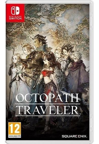 Jogo - Octopath Traveler - Switch - Midia Fisica