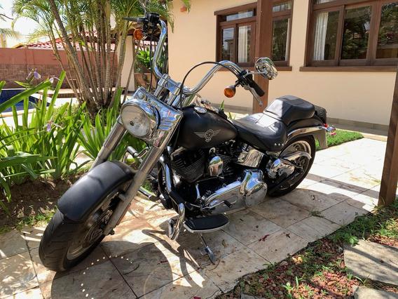 Harley Fat Boy 2009_acessórios_super Conservada - 4.000 Km