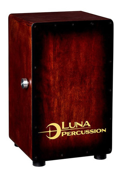 Cajon Dual Flamenco Peruano Luna Percusion Vintage - Funda