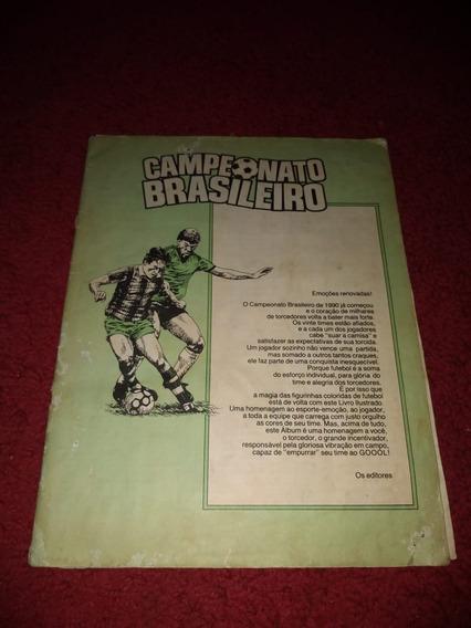 Album Campeonato Brasileiro 1990