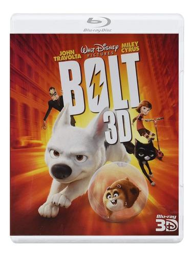 Bolt Un Perro Fuera De Serie Disney Pelicula Blu-ray 3d
