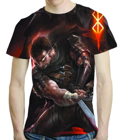 Camisa Anime Camiseta Berserk - Estampa Total 04