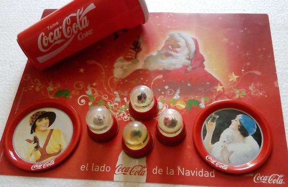 Lote Artículos Coleccionables De Coca Cola