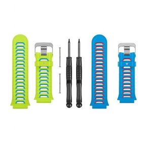 Kit Com 02 Pulseiras Garmin Forerunner 920xt Azul/verde