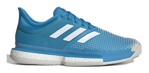 Tenis Atleticos Solecourt Boost Clay Hombre adidas Db2690
