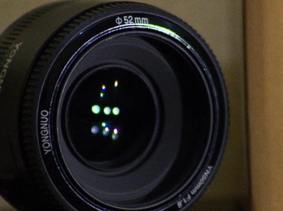 Lente 50mm F1.8 Para Canon