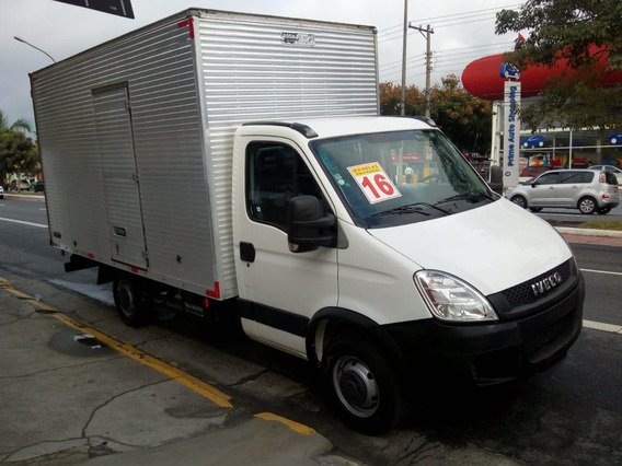 Iveco Daily 35s14 2016 Baú Camionete 23m3