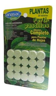 Abono Completo Fertipastillas Hojas 20 Pastillas X40g