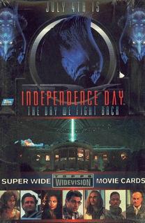 Dia Independencia Tarjetas Will Smith 36 Sobres Envío Gratis