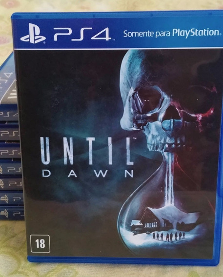 Until Dawn Ps4 Black Label Lacrado - Português Mídia Física