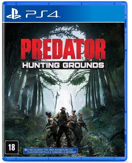 Jogo Ps4 Predator Hunting Grounds Mídia Física