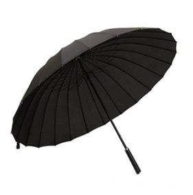 Paraguas 24 Varillas Lluvia Fuerte Colores / Barbazar