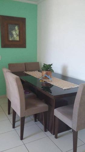 Imagem 1 de 30 de Apartamento Com 3 Dormitórios À Venda, 70 M² Por R$ 315.000 - Portal Das Palmeiras Jardim Shangai - Jundiaí/sp - Ap0299