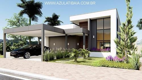Lindo Projeto, Casa Em Atibaia, Buona Vita,  Portaria, Rondas E Área De Lazer... - Ca01395 - 69612309
