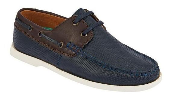 Zapato Para Caballero, Color Azul Marino 022271