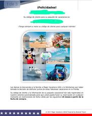 Paquete Turístico Viaje Vacaciones Disney, Orlando Y Crucero