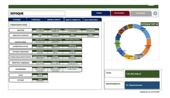 Desenvolvimento De Dash Board Excel Vba Planilhas