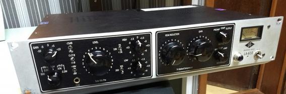 Pré-valvulado E Compressor Universal Audio La610