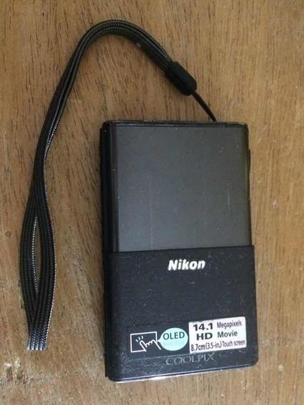 Câmera Nikon S80 Coolpix Oled 14.1 Megapixels