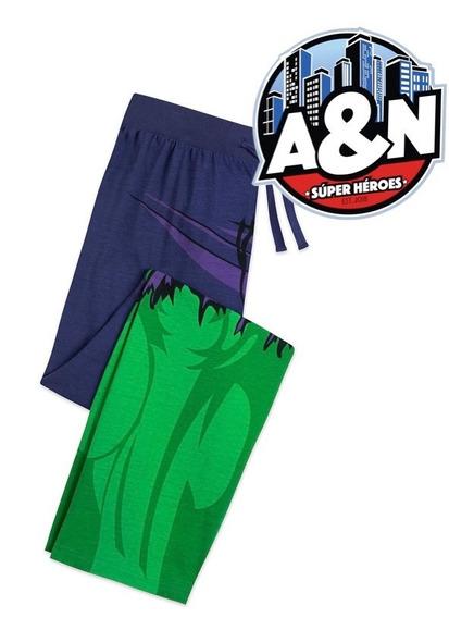 Pantalon De Pijama Hulk Clasico Adulto Para Hombre
