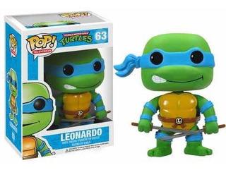 Funko Pop Leonardo #63 Tortugas Ninja Original