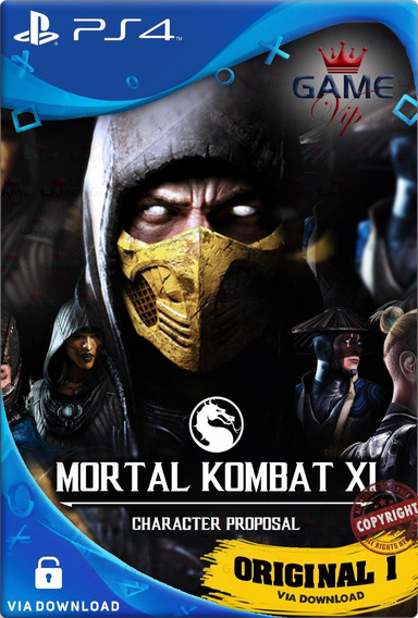 Mortal Kombat Xl Ps4 Digital Cod1