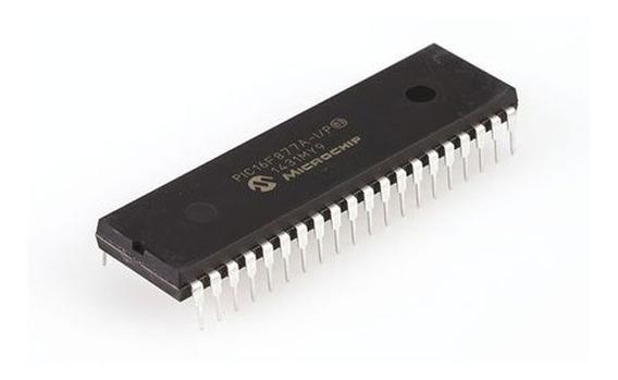 Microcontrolador Pic16f877a I/p Microchip Dip40