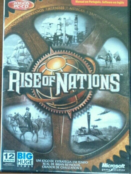 Rise Of Nations Microsoft N Age Of Empires Cd Dvd Game