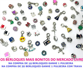 Kit 4 Berloques Pulseira Bracelete