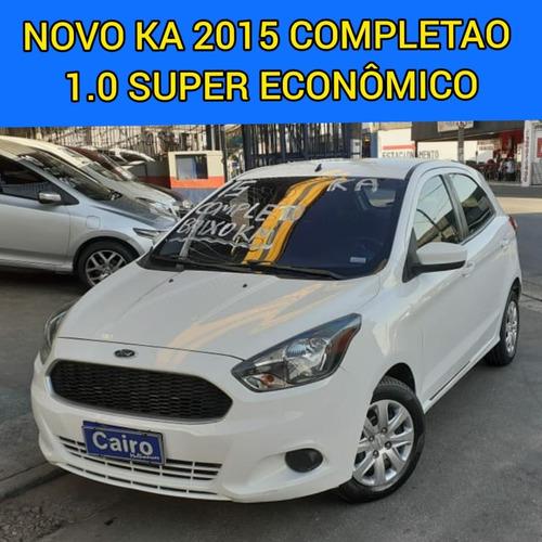 Imagem 1 de 7 de Ford Ka 2015 Completo Ar Condicionado Baixa Km