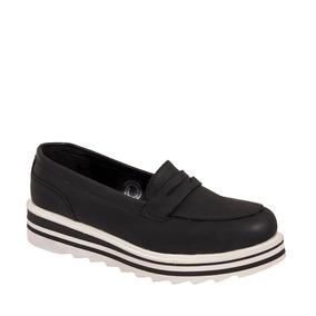 Zapato Choclo Negro Vi Line 2301 Price Shoes 178435