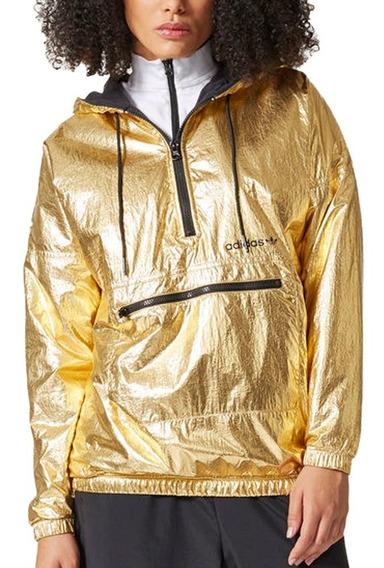 Chamarra Originals Rompevientos Golden Mujer adidas Br0290