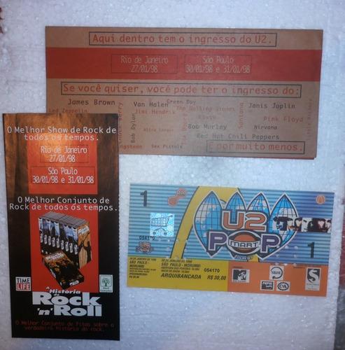 U2 Ingresso Raro Do Show De São Paulo Da Pop Mart 98