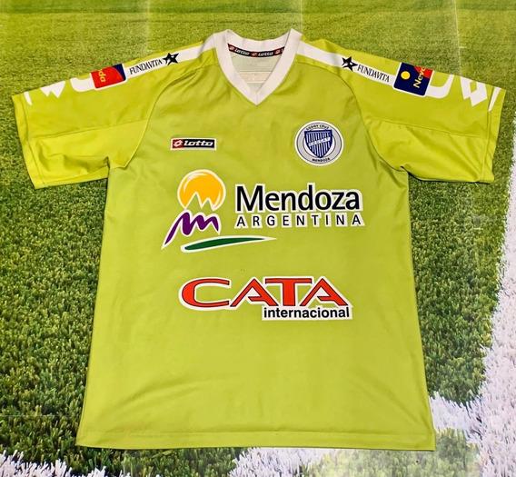 Camiseta De Godoy Cruz Verde 2010 Usada Miranda Coleccion !!