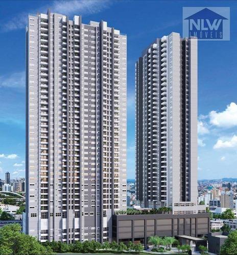 Apartamento Com 2 Dormitórios À Venda, 67 M² Por R$ 550.750,00 - Centro - Osasco/sp - Ap1670
