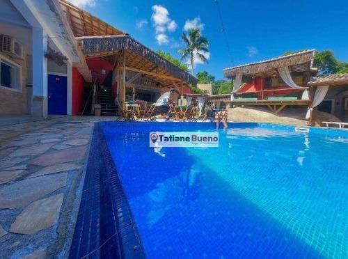 Casa Com 8 Dormitórios À Venda, 600 M² Por R$ 1.500.000 - Portinho - Ilhabela/sp - Ca2484