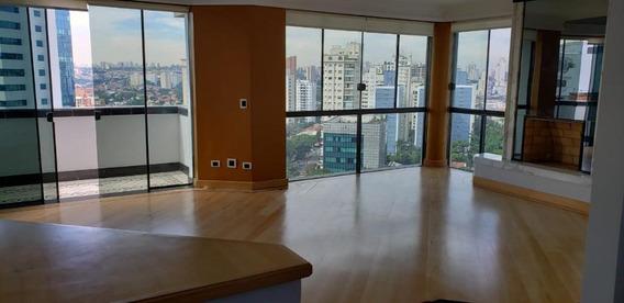 Cobertura Com 4 Dormitórios À Venda, 342 M² Por R$ 3.200.000 - Brooklin - São Paulo/sp- Forte Prime Imoveis - Co0959