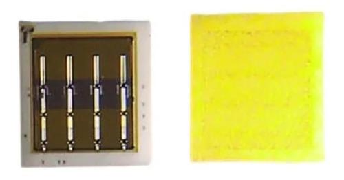 Imagen 1 de 3 de Led Smd Blanco Frio 1616 Csp 3v 3w Backlight 4k X10 Unidades