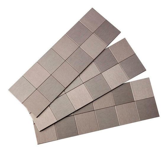 Mosaicos, Venecitas, Acero Inox Autoadhesiva Fabricante