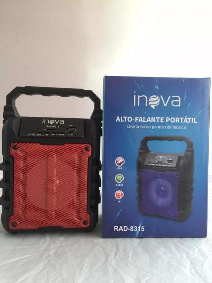 Caixa De Som Rad-8315, Pen Drive, Bluetooth, Fm, 10 Wht