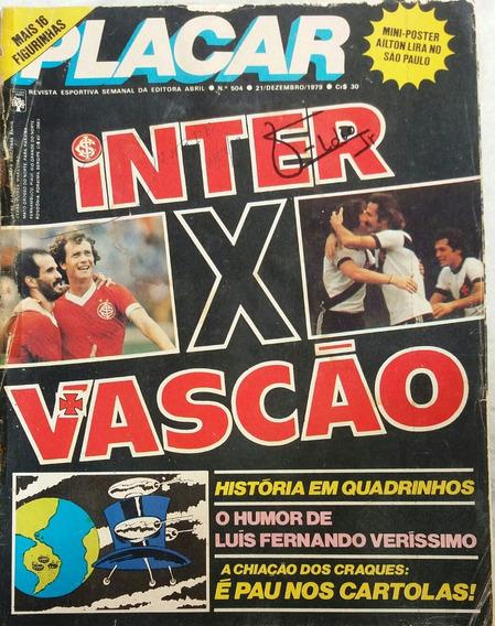 Revista Placar N° 504 - 21.12.1979