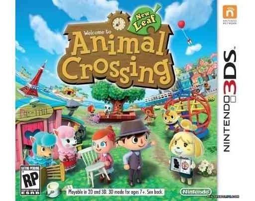 Animal Crossing New Leaf Codigo Original Nintendo Eshop