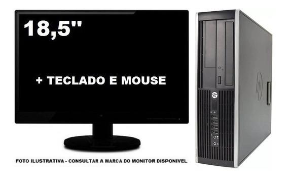 Computador Hp 8200 Core I5 4gb 120ssd - Seminovo