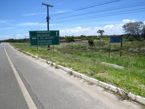 Lote Comercial Para Comprar No Barra Do Jacuípe Em Camaçari/ba - 416