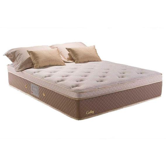 Colchão Casal Gobby Herval, Bco, 34x138x188, One Side Pillow
