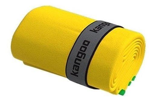 Toalla De Microfibra Kangoo Talla S Color Amarillo Con Verde