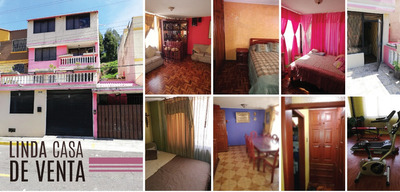 Casa Grande Y Linda En El Centro Norte De Quito