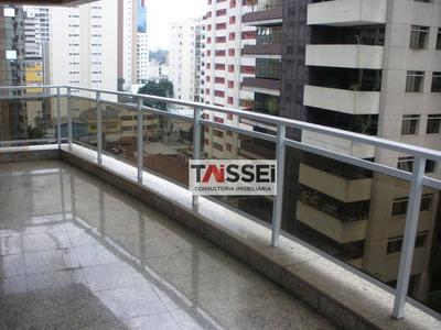 Apartamento Com 4 Dormitórios Para Alugar, 360 M² Por R$ 14.000/mês - Itaim - São Paulo/sp - Ap4967