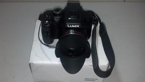 Câmera Fotógrafo Panasonic Lumix Dmc-fz47