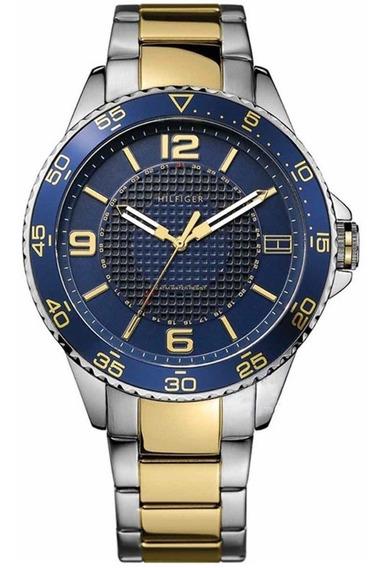 Relógio Tommy Hilfiger Th1790839 Orig Chron Anal Gold Silver
